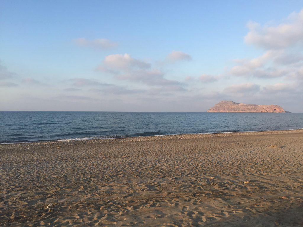 Strand in Kreta, Chania